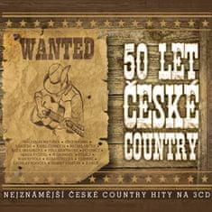 50 let české country (3x CD) - CD