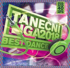 TANEČNÍ LIGA - Best Dance 2018 (2x CD) - CD