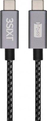 3SIXT sinhronizacijski in polnilni kabel USB 3.1 GEN 1, USB-C, 1m