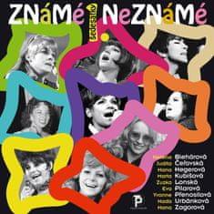 """Various: Známé / Neznámé 1. """"šedesátky"""" - CD"""