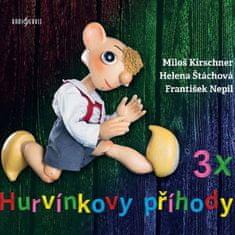 Kirschner Miloš, Helena Štáchová: 3x Hurvínkovy příhody (3x CD) - CD