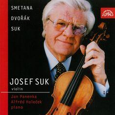 Suk Josef, Panenka Jan, Holeček Alfréd: Smetana, Dvořák & Suk: Skladby pro housle a klavír