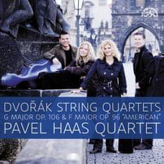 "Pavel Haas Quartet: Dvořák: Smyčcové kvartety  G dur, op. 106 a F dur, op. 96 ""Americký"""