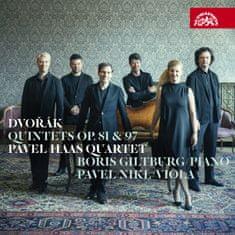 Pavel Haas Quartet, Giltburg Boris, Nikl Pavel: Dvořák: Kvintety