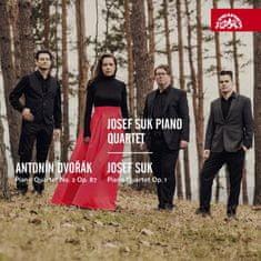 Klavírní kvarteto Josefa Suka: Dvořák & Suk: Klavírní kvartety