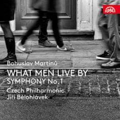 Česká filharmonie, Bělohlávek Jiří: Martinů: What Men Live By, Symfonie č. 1, H 289