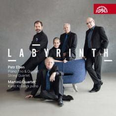 Kvarteto Martinů, Karel Košárek: Eben: Smyčcový kvartet, Klavírní trio, Klavírní kvintet