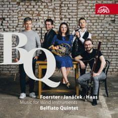 Belfiato Quintet: Janáček, Foerster & Hass: Hudba pro dechové nástroje