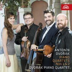 Dvořákovo klavírní kvarteto: Dvořák: Klavírní kvartety č. 1 a č. 2