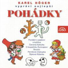Höger Karel: Nejlepší pohádky - CD