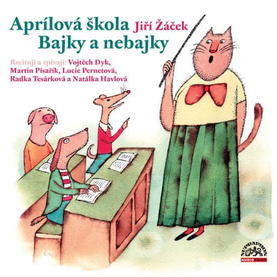 Žáček Jiří: Aprílová škola - CD