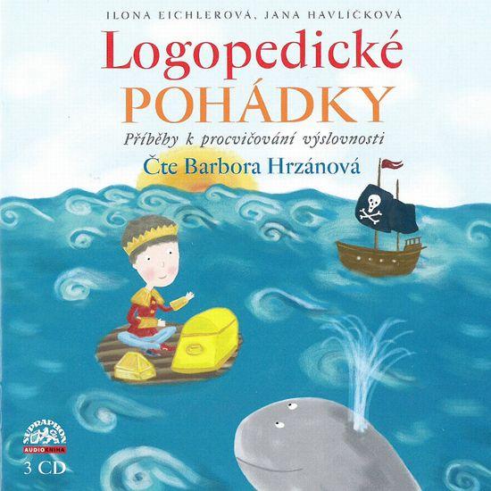 Hrzánová Bára: Logopedické pohádky (3x CD) - CD