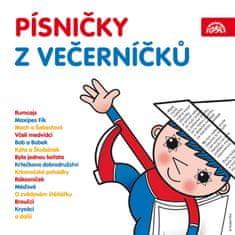 Písničky z Večerníčků (2x CD) - CD