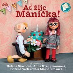 Divadlo S+H: Ať žije Mánička! - CD