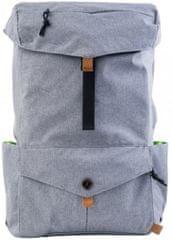 """PKG DRI Drawstring Backpack 15"""" PKG-LB04-15-DRI-LGRY, světle šedý"""