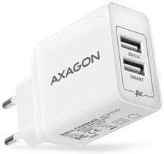 AXAGON SMART nabíječka do sítě, 2x port 5V-2.1A + 1A, 15.5W, ACU-5V3
