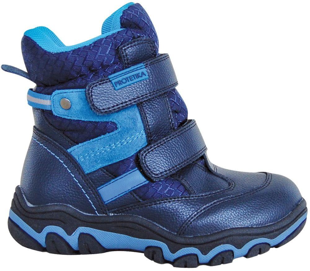 chlapčenské zimné topánky Polar 30 modrá