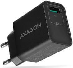 AXAGON QUICK nabíječka do sítě, 1x port QC3.0/AFC/FCP/SMART, 19.5 W, ACU-QC