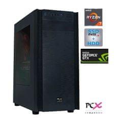 PCX namizni računalnik EXTIAN XA7 R7 2700X/16GB/SSD 500GB+HDD 2TB/GTX1660/FreeDOS (PCX EXTIAN XA7)