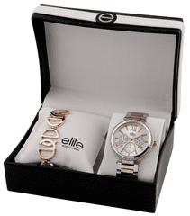 Elite Models női karóra és karkötő készlet E54794-304