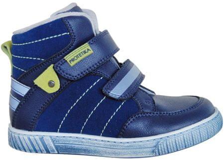 Protetika chlapecké kotníkové boty Merlin 27 modrá