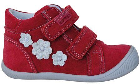 Protetika dívčí kotníkové boty Tulsa 19 červená