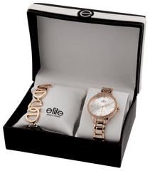 Elite Models dámska sada hodiniek a náramku E54874-804 - zánovné