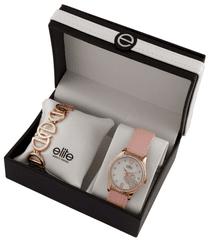 Elite Models dámska sada hodiniek a náramku E54912-812