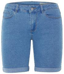 Vero Moda Dámske kraťasy Hot Seven Nw Dnm Long F Shorts Mix Noos Light Blue