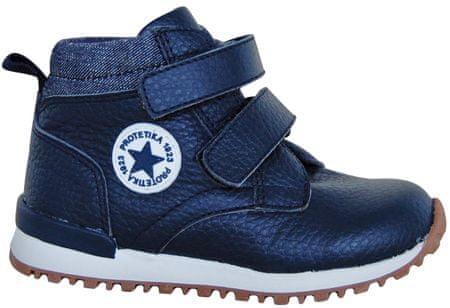 Protetika chlapčenské členkové topánky Helgen 19 modrá