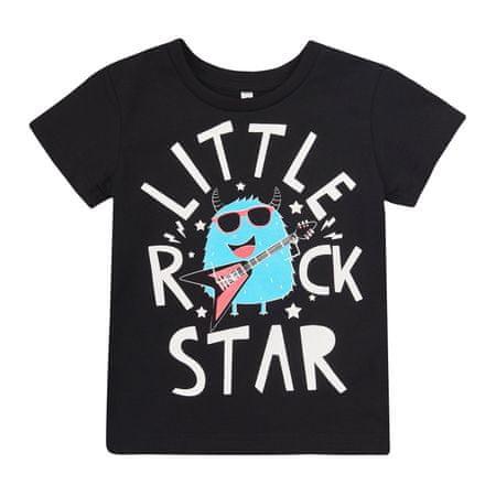 Garnamama koszulka chłopięca 92 czarna
