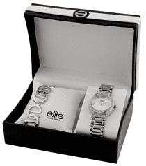 Elite Models női karóra és karkötő készlet E53684-201