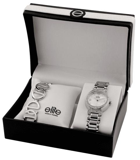 Elite Models dámska sada hodiniek a náramku E53684-201
