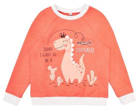Garnamama majica za djevojčice, 110, bijela/roza