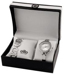 Elite Models dámska sada hodiniek a náramku E54484-204