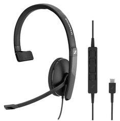 Sennheiser slušalice SC 130 USB-C, mono