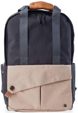 "PKG DRI Tote Backpack 15"" PKG-LB08-15-DRI-BLK, czarny/beżowy"