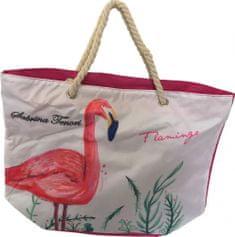 DUE ESSE Plážová taška Plameniak