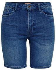 ONLY Dámske kraťasy Corin Midwaist Dnm Shorts Mox Bj Medium Blue Denim
