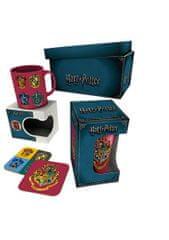 Darčekový set Harry Potter - hrnček, pohár, podtácky