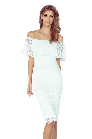 Morimia Dámske šaty 013-1, krémová, XL