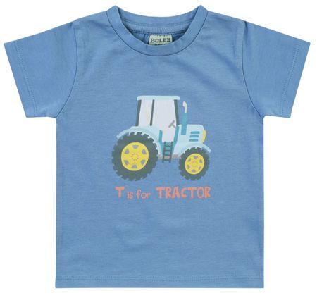 Jacky chlapecké tričko 86 modrá
