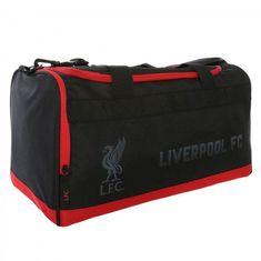 Liverpool športna torba, črno rdeča