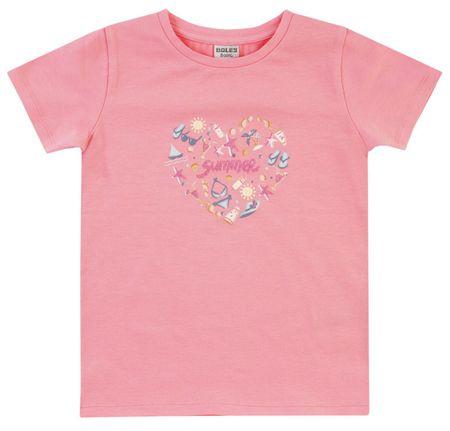 Jacky dievčenské tričko 110 ružová