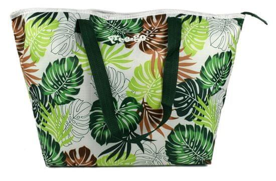 DUE ESSE Termo taška Free-go, zelené a hnedé listy a tmavozelené uchá