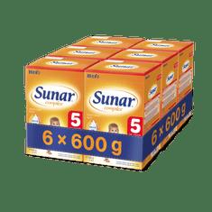 Sunar kojenecké mléko Complex 5 - 6x600g