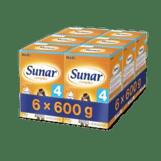 Sunar kojenecké mléko Complex 4 - 6 x 600g