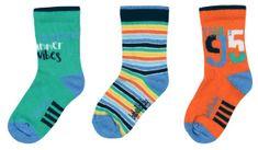 Boboli chlapčenská sada troch párov ponožiek