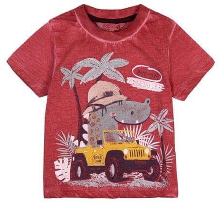 Boboli chlapčenské tričko 86 tehlová