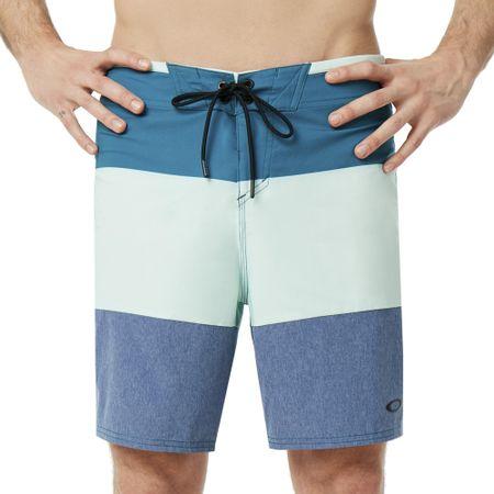 Oakley moške kratke hlače Ollie Block Melange 18 Inches Dark Blue Med Htr, 36